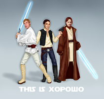 This is ...Star Wars by DariaPandora