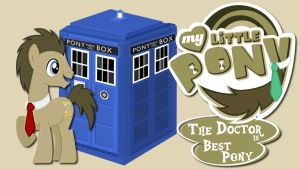 Wallpaper Doctor Whooves is best pony by Barrfind