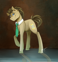 Doctor Whooves by AzulaGriffon
