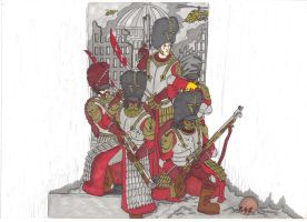 imperial guard vostroyans promarker by savagehenry89