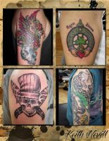 Tattoo layout 13 by Agreus