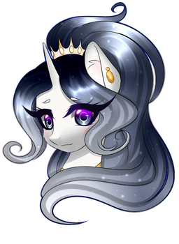 Art trade:Sady Cloudy by Coldly-Painter