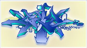 GRAFF VERSION 01  2011 by KOKORONIN