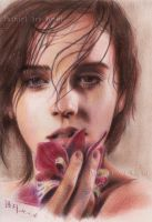 Emma Watson - color pencil by Painirl