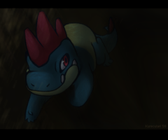 Through Murky Depths:Art Trade by Kureculari