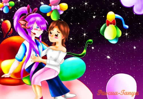 My colorful and happiness world by Pascua-Tanya