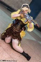 Steampunk Seras Victoria 3 by Insane-Pencil