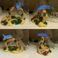 Realism Sculpture: Sharks on a Reef by GreatFrostHawk