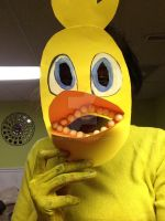 My chica costume by S-K-Y-L-I