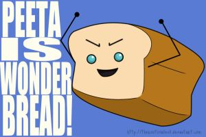 PEETA IS WONDER BREAD by TheRootOfAllEvil