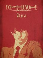 Death Note Kira Poster by albaturd