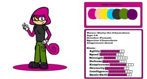 Kaity the Chameleon by Kaity-Chameleon