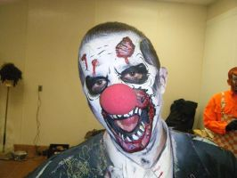 Yeah.. zombie clown... nose by dragonhuntr