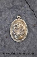 Cersei's pendant: real brass version by TheIronRing
