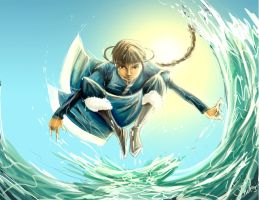 Katara- Water Bender by girlzOr