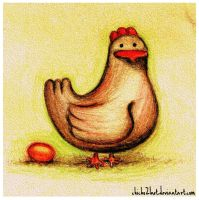 Fat hen by chicho21net