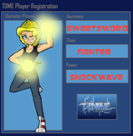 SweetSword TOME Player Registration by BillyBCreationz
