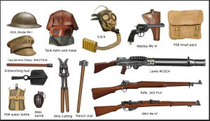WW1  British Equipment by AndreaSilva60
