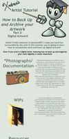 How to Backup Digital Artwork by Xadrea