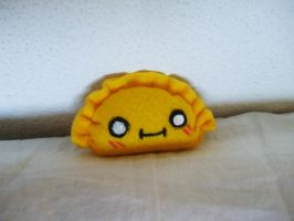 Mini Felt Kawaii Dumpling Plushie by Number1FMAfangirl