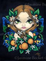Orange Blossom Fairy by jasminetoad
