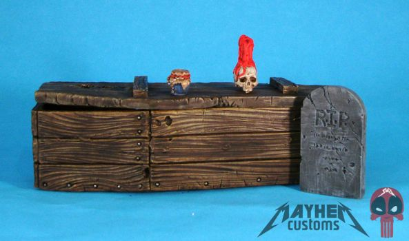 VooDoo Priest custom action figure accessories by starwarsgeekdotnet