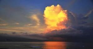 Clouds Over Molokai by kdjohnston