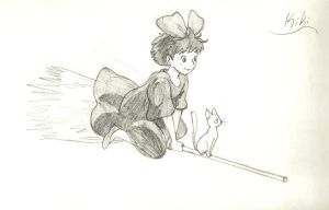 Kiki's Delivery Service by nooneyouneedtoknow