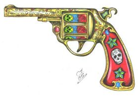 Gold Gun by craigelcich