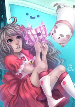 Bee and PuppyCat by Little-Miss-Boxie