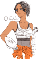Chell by ramisiun