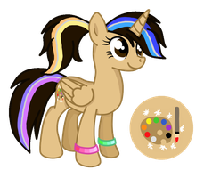Paintbrush von Glitter .::Official Reference::. by PaintbrushPonyArtist