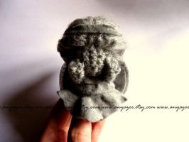 Weeping Angel Amigurumi by AnyaZoe