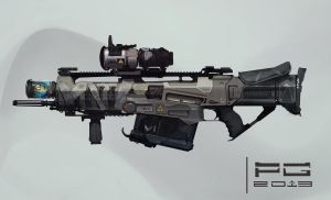 Phase rifle concept by ProxyGreen