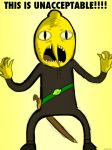 THIS IS UNACCEPTABLE!!! (Lemongrab) by ZolaLink