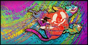 trippy kitty tornado by high-fructose