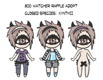 Xynthii: Adopt: 800 Watcher Raffle CLOSED by ObsceneBarbie