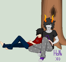Le Me and Gamzee :P by steph432
