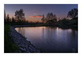 Small pond in Lobzy by CzechPhoto