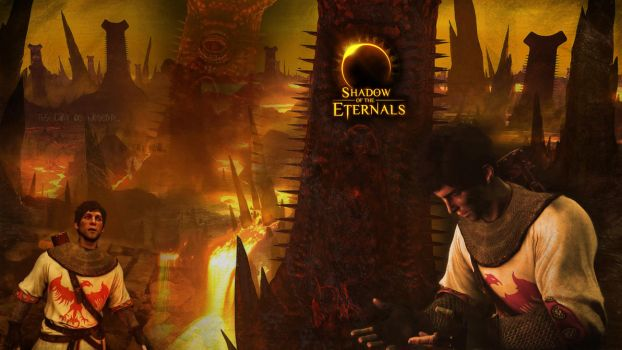 Shadow of the Eternals Wallpaper - Theodoric by ShivaChan