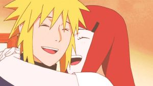 Minato and Kushina (gif) by athinaantreou