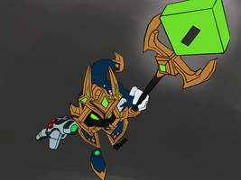 final boss veigar by Droezer