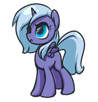 Filly Luna by InLucidReverie