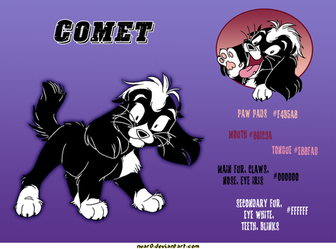Cheat sheet: Comet. by NUAR0