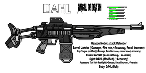 The UA: DAHL Angel of Death by OUTMACED121