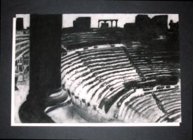 Colosseum Charcoal by Senshisoldier