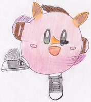 Kirby Bandicoot by Vincentmrl