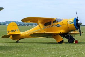 Beech D17S Staggerwing by Daniel-Wales-Images