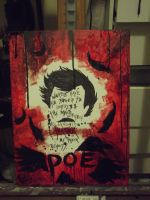 Poe (Painting) by jynxraven513