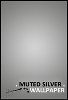 Muted Silver Wallpaper by jbinong